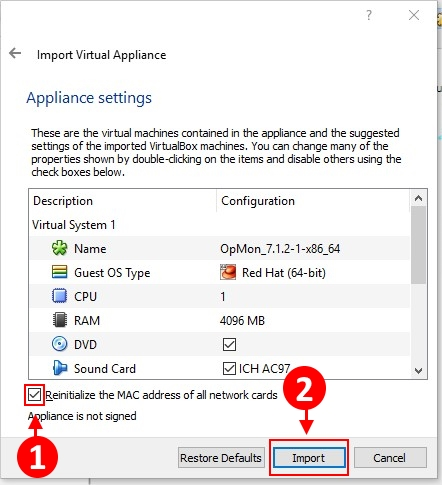 Installing OpMon through Oracle Vm VirtualBox - Knowledge Base