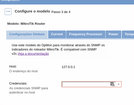 Monitoramento Roteador MikroTik com OpMon - Knowledge Base